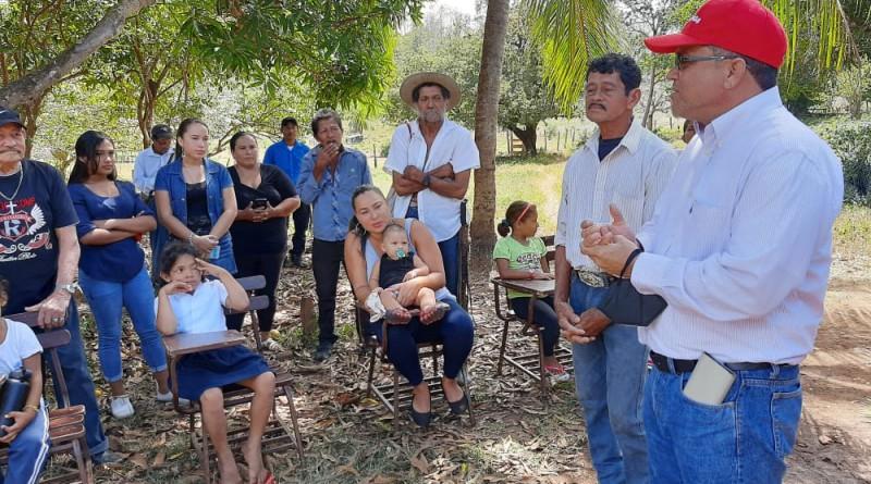 Comunidades Los Ortehga, Los Arana, y El Colectivo  ya tienen energía