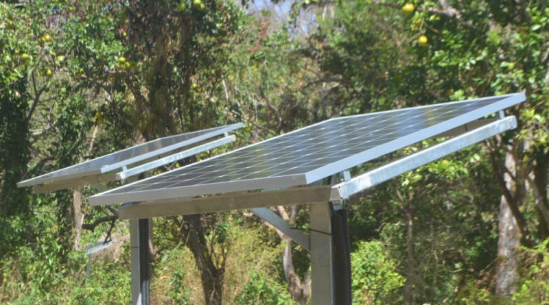 San Carlos: Instalación domiciliar de paneles solares en las comunidades Los Ortega, Los Aranay El Colectivo en la isla Mancarrón en Solentiname.