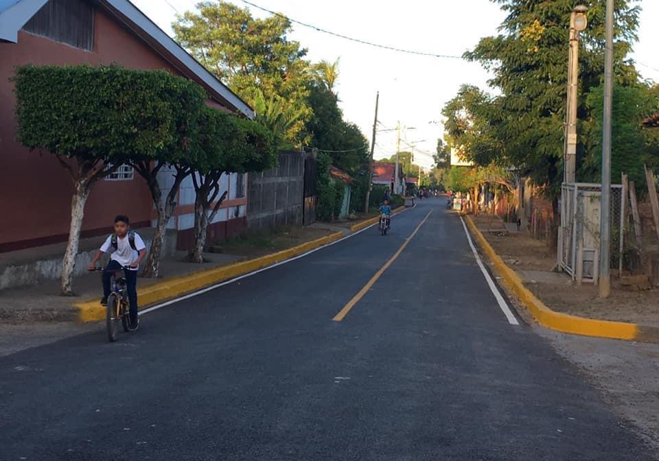 En Belén se construyeron tres calles en el sector El Mirador