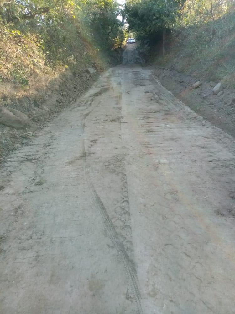 En La Conquista se restauró nueve kilómetros en las comunidades El Mojón, Santa Juana, La Francesa y El Abra.