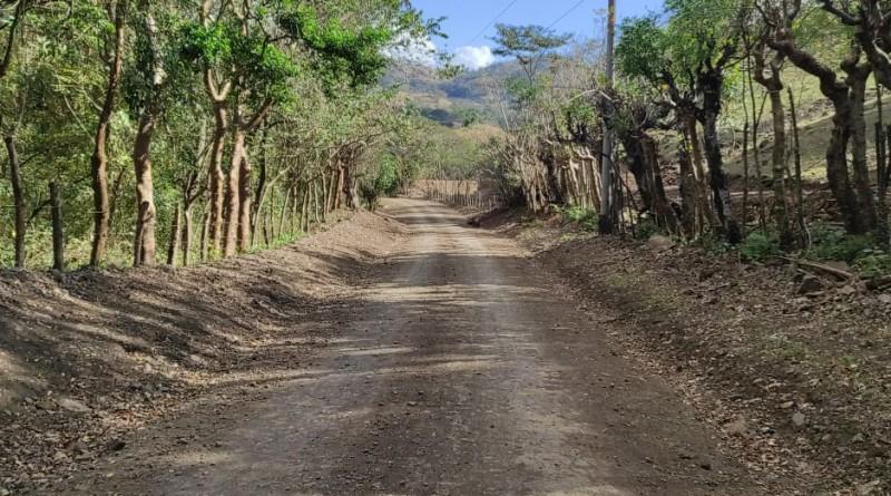 Otros 5 kilómetros restauró la alcaldía de San Dionisio en la comunidad Los Limones.