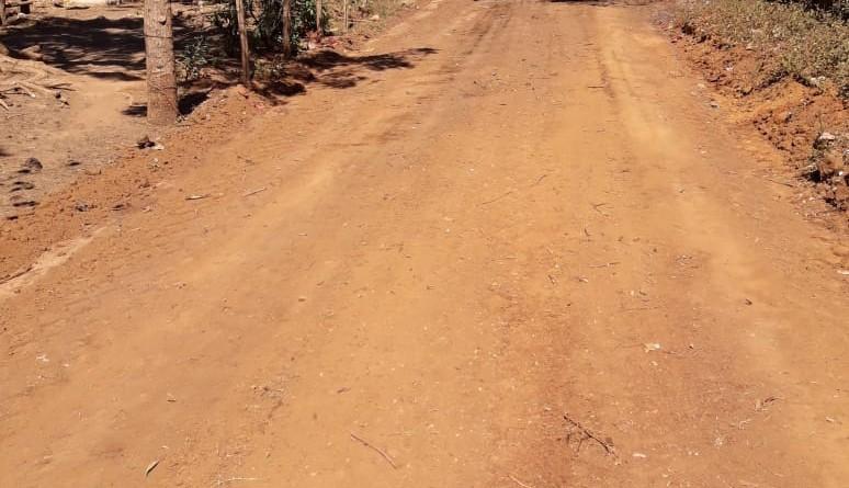 Diez kilómetros de camino mejoraron en el sector de San Gabriel en Nagarote.