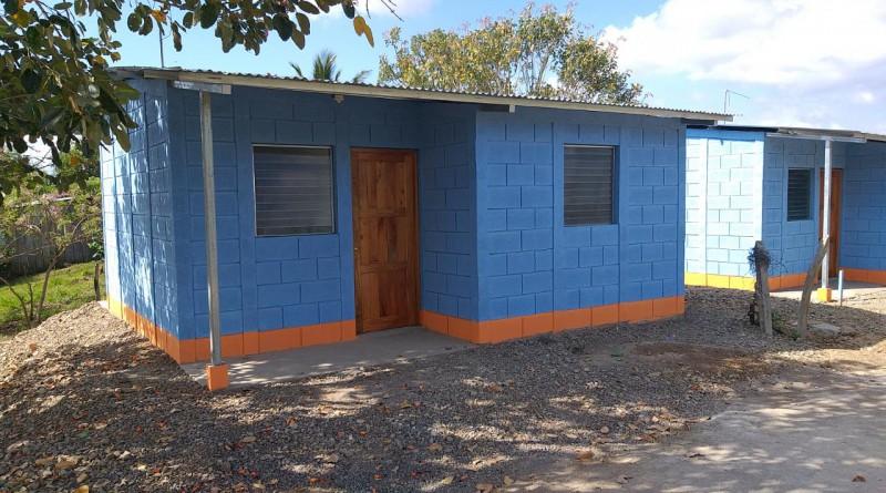 El Programa Bismarck Martínez sigue entregando viviendas. En Matiguás se otorgarán cinco viviendas en los barrios Rufino Lópezy Julio Cuaresma.