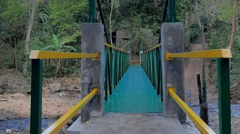 Matagalpa puente para tránsito de personas
