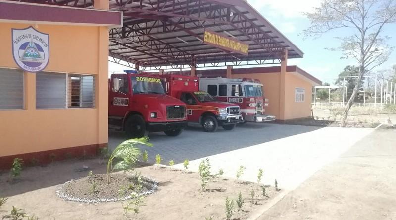 Nueva estación de bomberos en Juigalpa