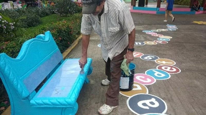 Obras de embellecimiento en el mercado de Ticuantepe