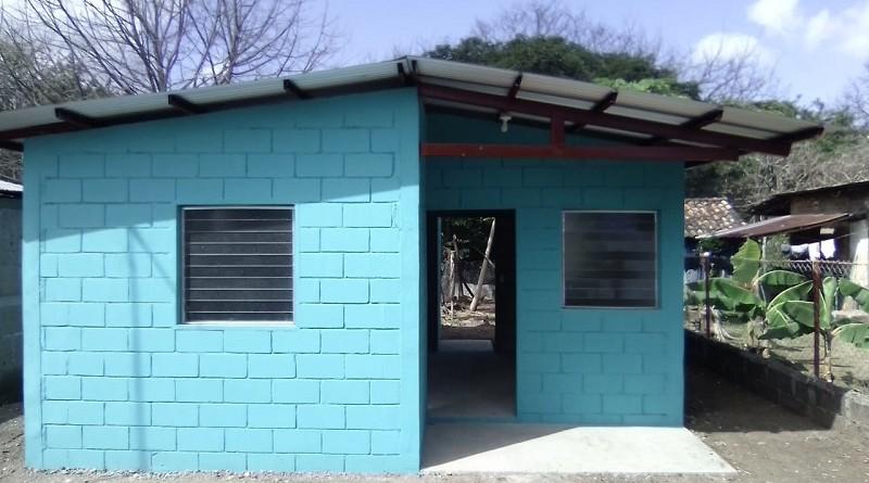 Casa en la comunidad San Pedrito en Juigalpa