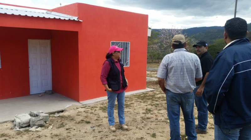 Seis casas se han construido  y se levantarán otras seis este año