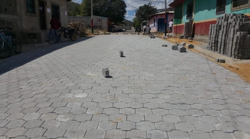 Somoto: calle en el sector Pancasán