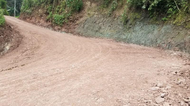 Telpaneca:Nueve kilómetros fueron rehabilitados en la comunidad Los Planes.