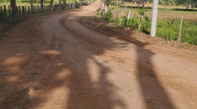 Morrito:En este municipio fueron mejorados 24 km en las comunidades El Sincoyal, Palmira y La Pizota.
