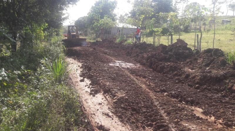 El Castillo:8 Km. Comunidad El Guásimo cuenta con 8 km de caminos reparados