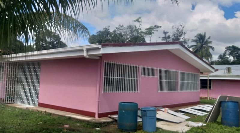 San Carlos :Centrode salud en la comunidad Las Azucenas.