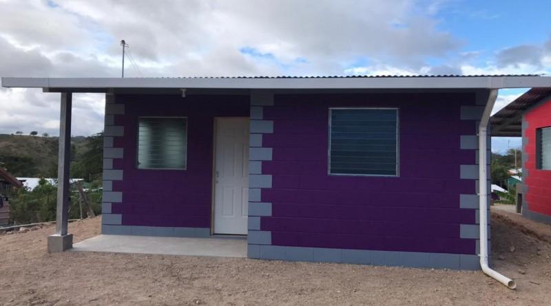 Somoto:Diez viviendas.