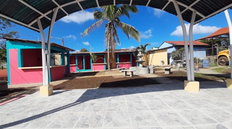 Parque de ferias en Niquinohomo