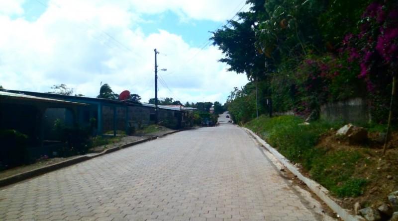 La Libertad: Cuatro calles en el  Barrio Tasbapri.