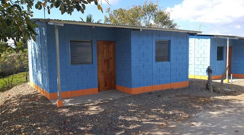 Una de las seis casas que se entregarán En Matiguás