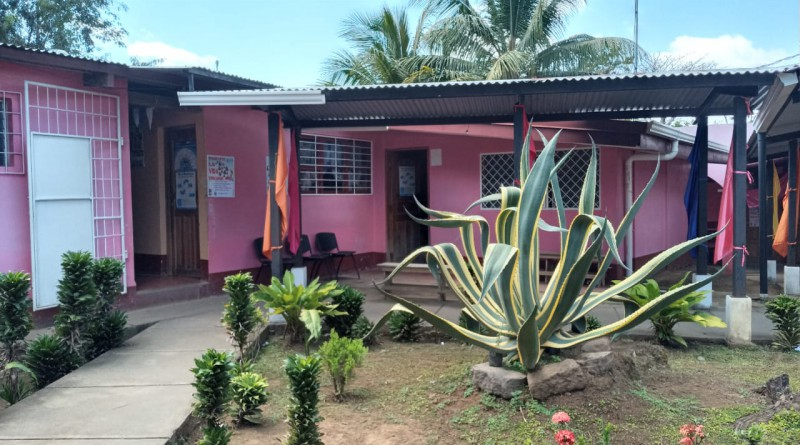 Centro de salud de Nandasmo donde se amplió con una sala para atención de casos febriles