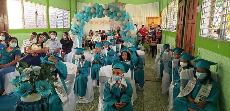 Promoción del iII nivel de educación inicial en el CDI Fe Paz y Esperanza de Pueblo Nuevo