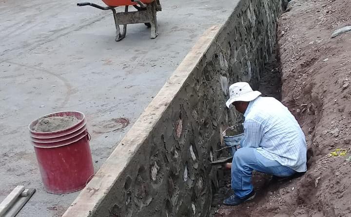 Totogalpa: Construcción de caja puente en la comunidad Quebrada Grande Santo Domingo