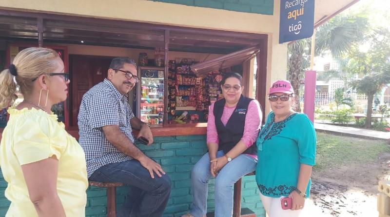 Presidenta del Inifom, concluye visita a El Jícaro, Tierra del Decoro Nacional