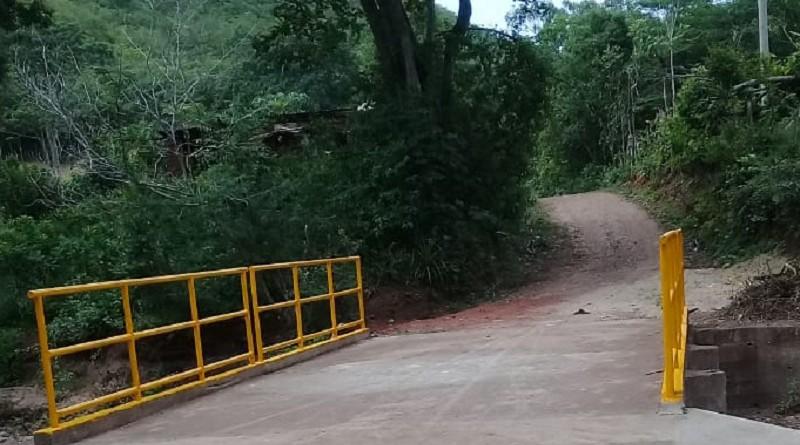 Puente vehicular en Totogalpa