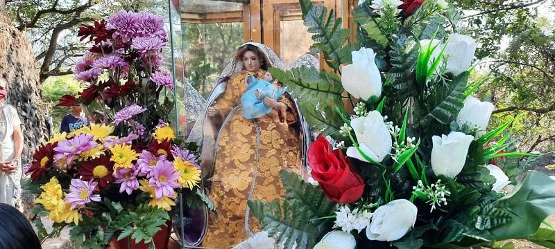 La Virgen de Los Remedios, Titular de Quezalguaque celebró sus fiestas patronales, sube a su trono el 25