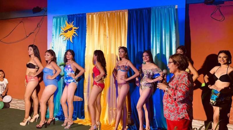Concurso Reina Verano 2021 en El Viejo