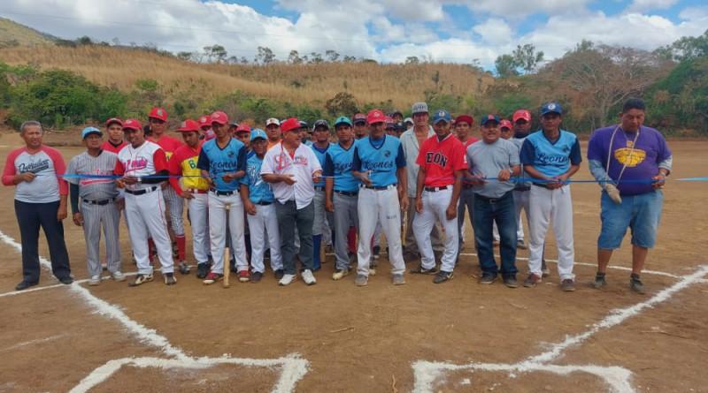 Malpaisillo: Inauguración de mejoras en el campo deportivo en la comunidad Rota