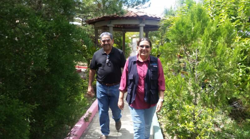 Equipo municipal cohesionado trabajando por el bienestar de las familias encontró la presidenta ejecutiva del Inifom en Santa María, Nueva Segovia.