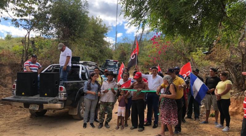 Reparación de 35 kilómetros de camino hacia seis comunidades deSan Francisco Del Norte