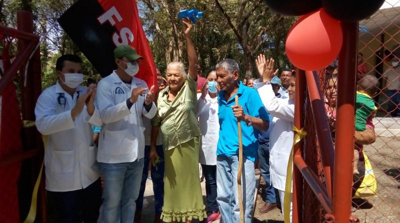 San Carlos: Mejoras dela unidad de salud en la comunidad Mancarrón, Solentiname.