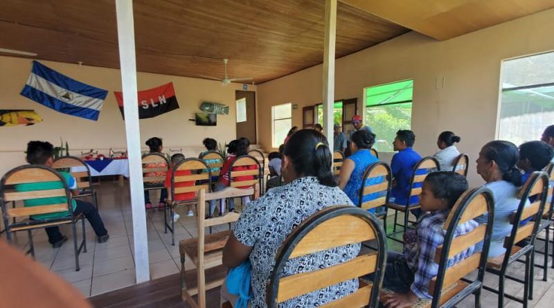 San Carlos: Instalación domiciliar de paneles solares en las islas San Fernando y Venada # 2 en el archipiélago de Solentiname.