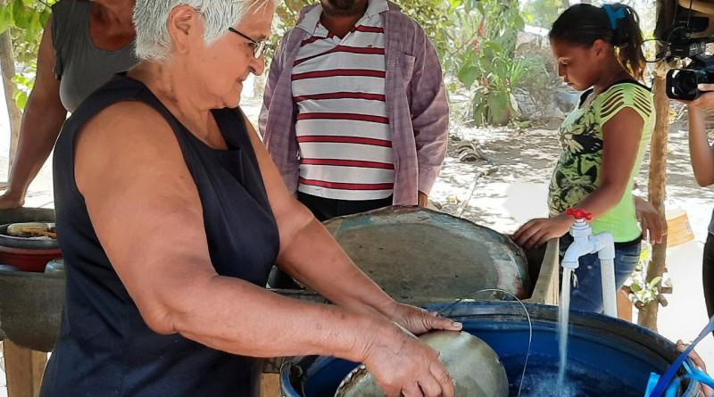 Inauguran ampliación del sistema de agua potable en las comunidades  Paso Benito- Los Remedios