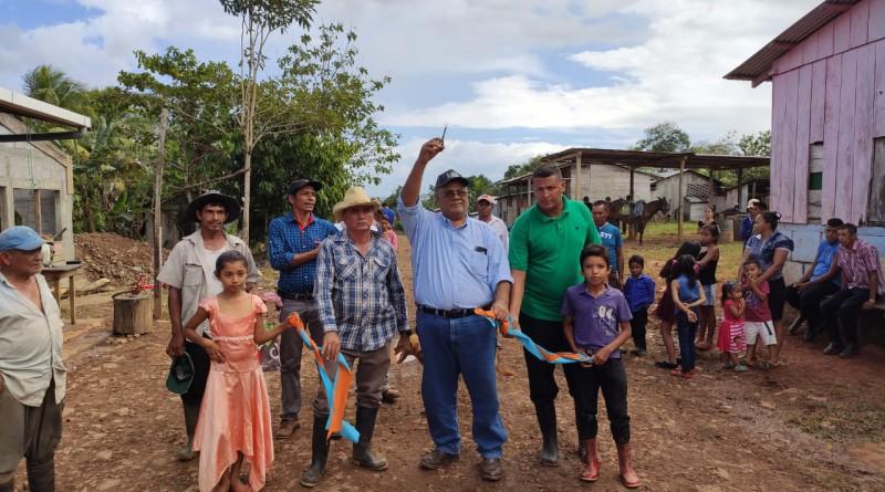 Inauguración de reparación de 8.5 kilómetros de camino de todo tiempo tramo Ventura-Guásimo en El Castillo: