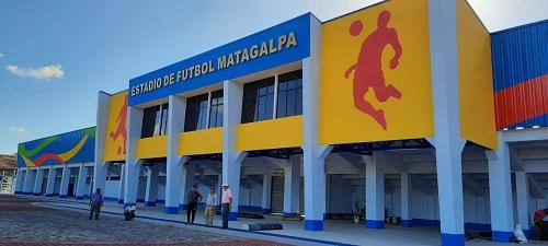 Estadio de fútbol gran proyecto deportivo entre obras que recibirán las familias del 1° al 7 de marzo.