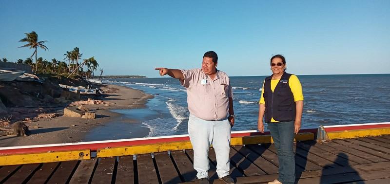 Presidenta del Inifom en dos días de intenso recorrido en Puerto Cabezas
