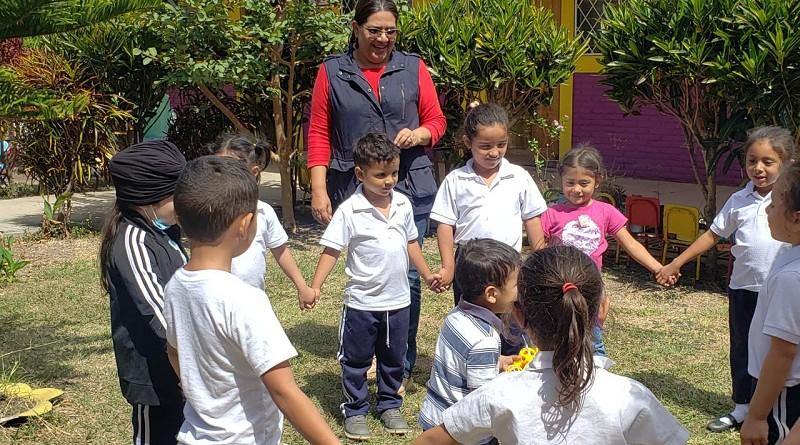 Gobierno Local de San Nicolás y presidenta de Inifom recorren infraestructuras públicas
