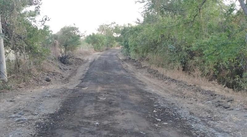 En Chichigalpa se restauraron 5.5 kilómetros en El Pellizco- Oriental