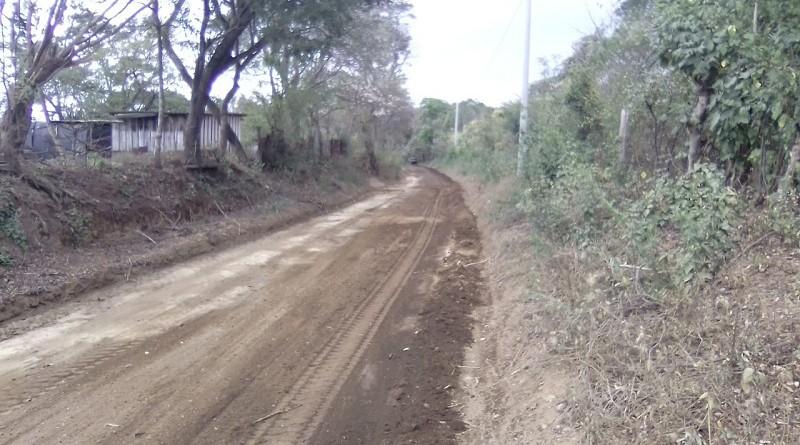 Seis kilómetros restaurados en el sector El Tigre en Villa El  Carmen