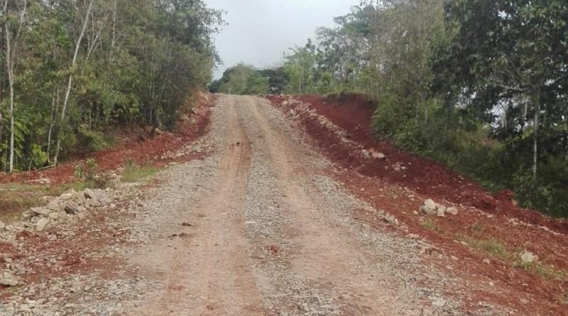 En Bluefields, la alcaldía restauró 9 kilómetros en la comunidad Aguas Zarcas