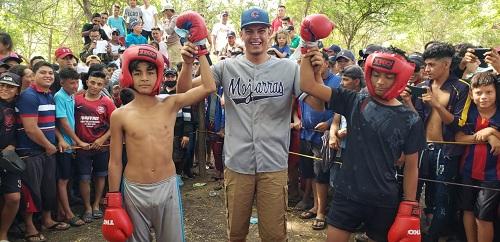 Concurso de boxeo en Las mojarras, El Jicaral