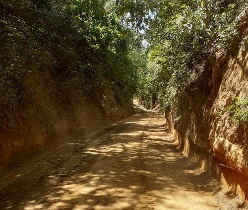 En el Crucero el gobierno local mejoró 15 kilómetros en la comunidad Los Hidalgos.