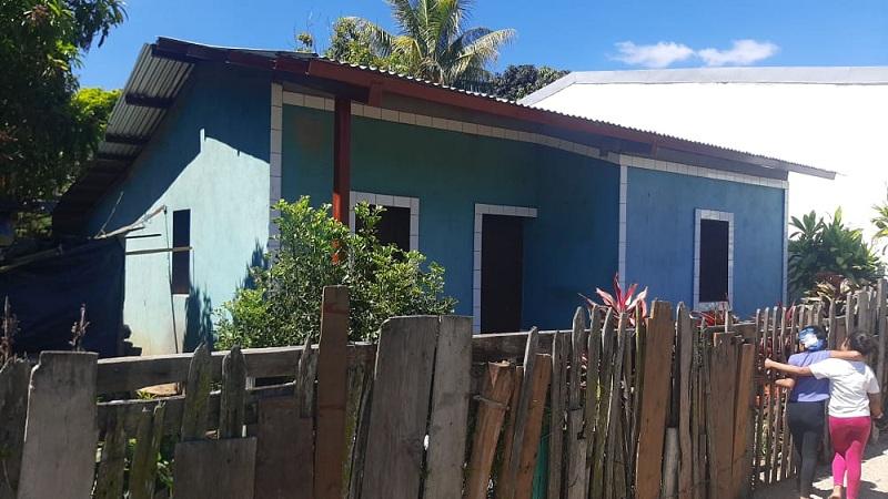 La alcaldía de San Fernando otorgará 16 viviendas en la comunidad Santa Clara.
