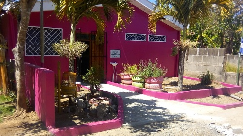 La casa materna deSan Juan de Oriente, fue restaurada.