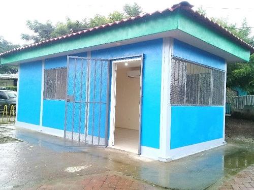 Construcción de oficina para la mediación de resolución de conflictos, en Ciudad Sandino.