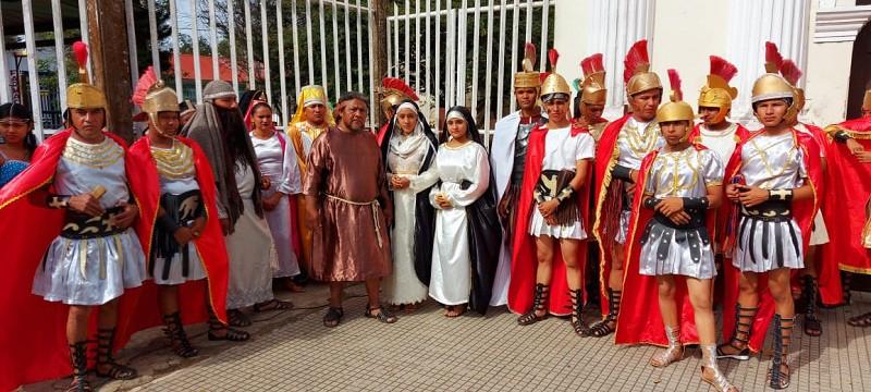 Magistral presentación de la Judea de Monimbó en San Marcos
