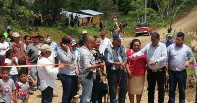 Calle nueva recién inaugurada en el barrio Rafaela Herrera en Chinandega