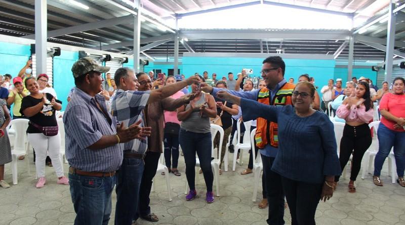Moderna infraestructura en Guasaule para trabajadores por cuenta propia