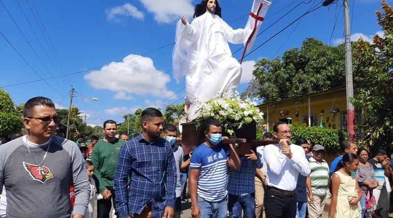 En El rosario con Cristo  Resucitado